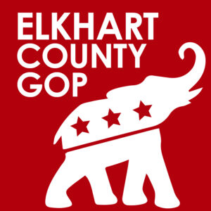 Elkhart County Republican Party Elephant Logo - Indiana GOP